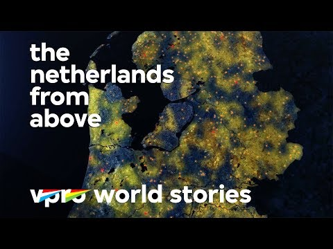 Dutch demographics - The Netherlands from above