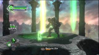 Green Lantern - ROTMh: Stage 1 Boss - Manhunter Ultra