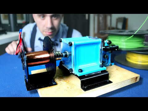 Tesla Earthquake Machine [3D Printed]