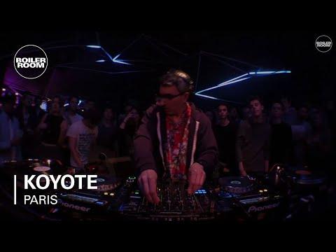 Koyote Boiler Room Paris DJ set