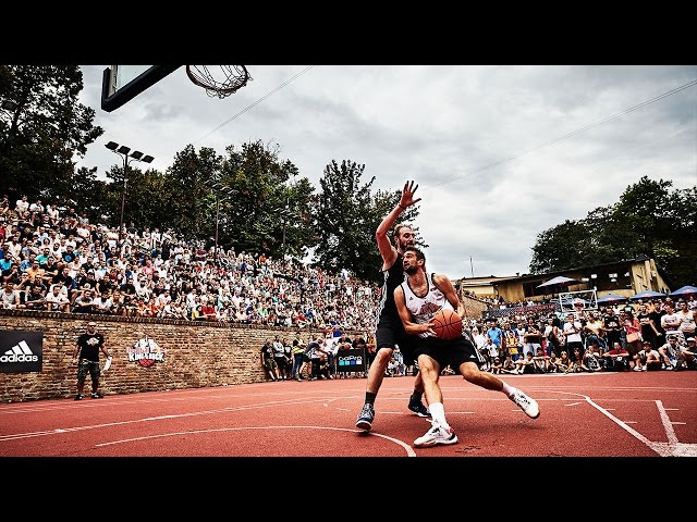 Red Bull King of the Rock Highlights: 1 on 1 Basketball World Finals