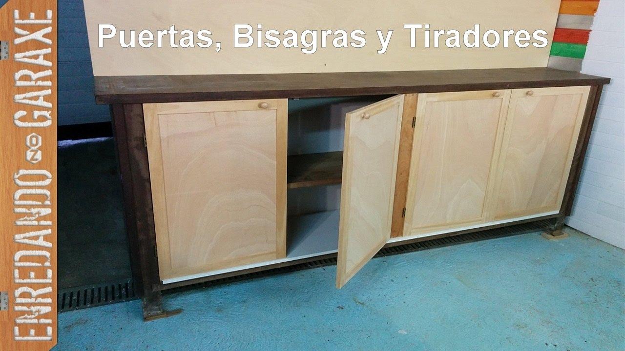 puertas para armario de taller parte 2 youtube