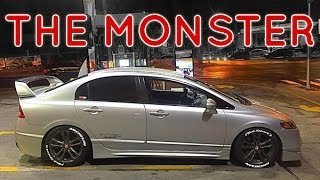 Civic SI - O monstro das Ruas