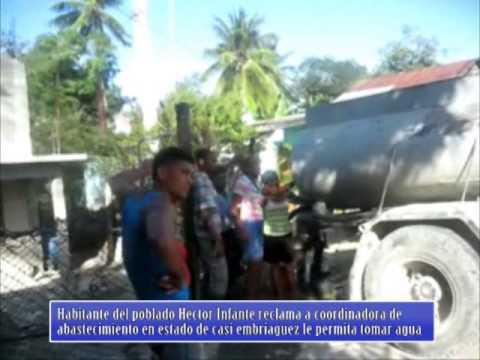 Testimonio de habitante de Manuel Tames denunciando contaminacion del agua potable