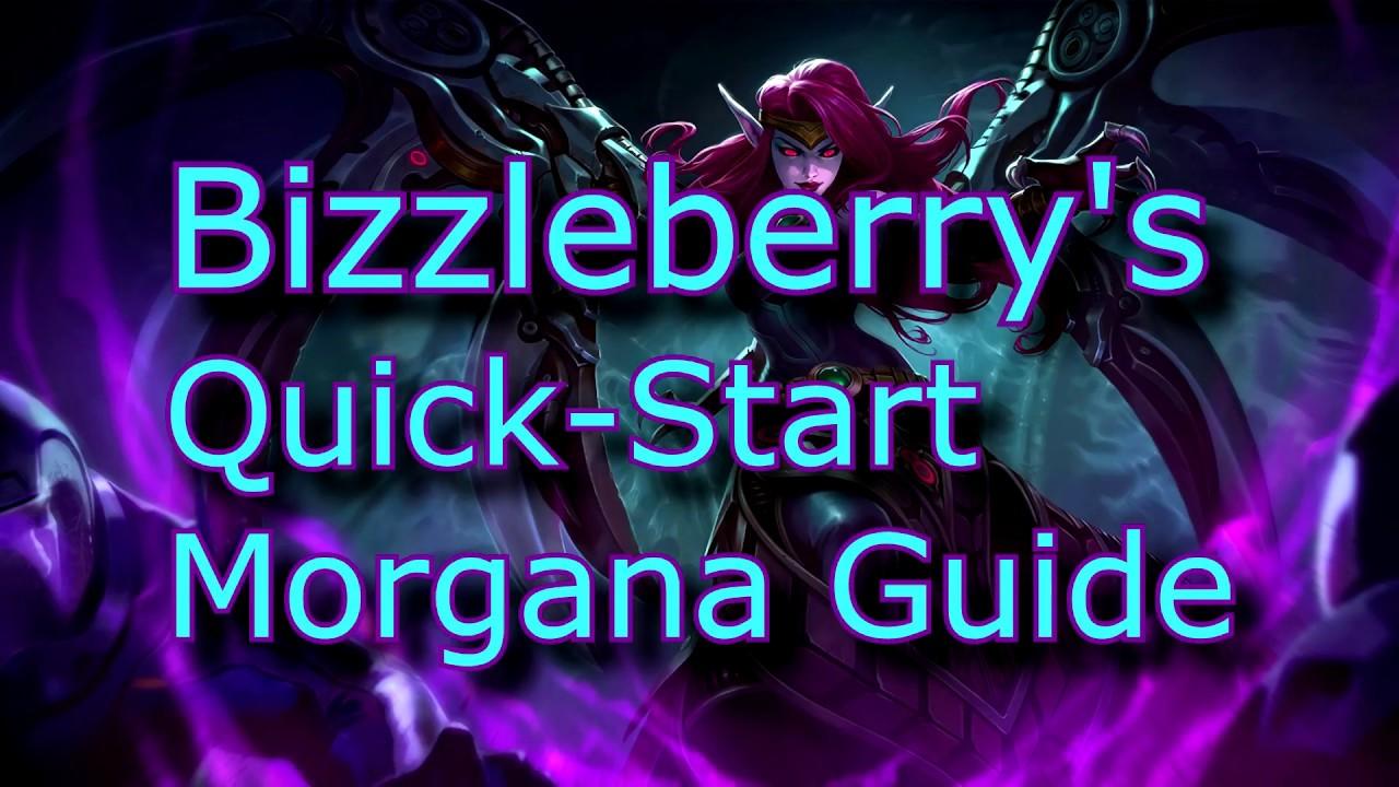 najlepsze oferty na kupować o rozsądnej cenie Morgana Quick-Start Support Guide for League of Legends