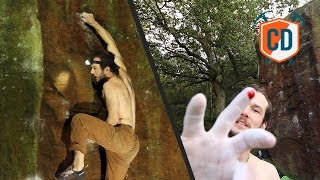 Gritstone Bouldering Summed Up Perfectly In One Video | Climbing Daily, Ep. 598