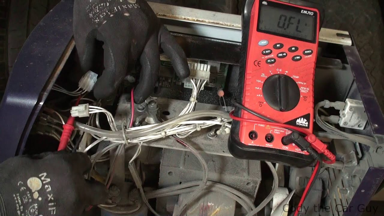 Hobart Handler 140 wire speed issue trouble shooting part 2 - YouTube