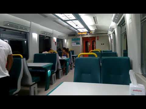 On board the dining car in the train Sao Luis-Carajás in Maranhão, Brazil 2017