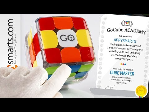 Kids Can Learn How to Solve Rubik's Cube easy way with Go Cube - STEM toy demo thumbnail