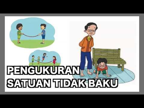 Kelas 01 - Tema 4 Subtema 3 - Matematika (Pengukuran Satuan Tidak Baku) | Video Pendidikan Indonesia