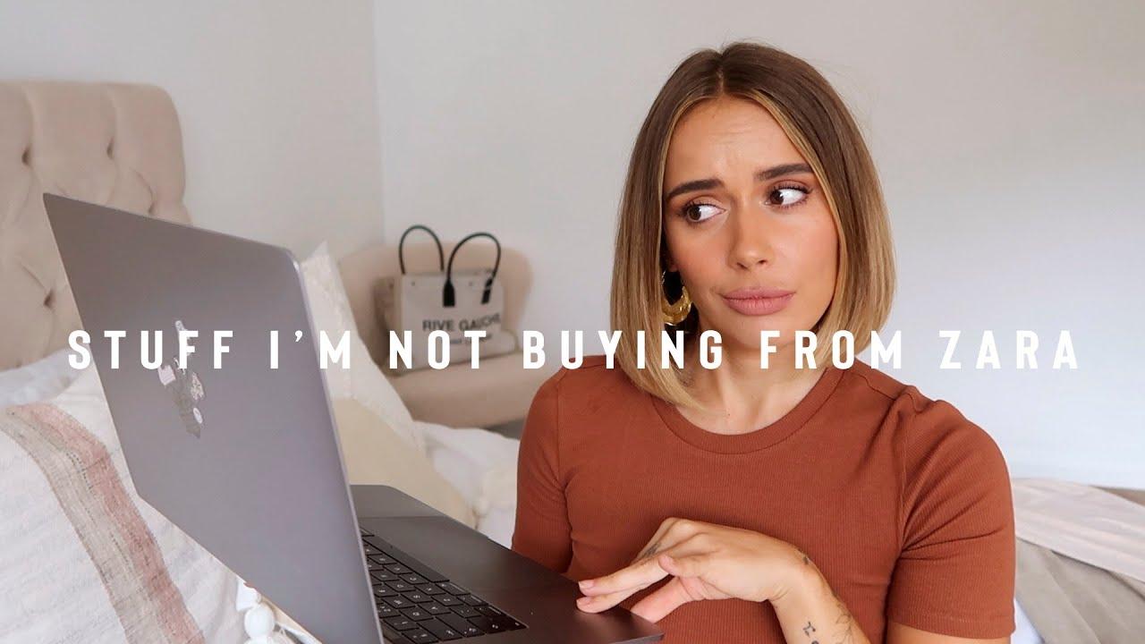 THINGS I'M NOT BUYING FROM ZARA | ANTI HAUL | Suzie Bonaldi