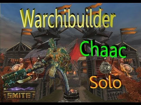 SMITE! Warchi builds: Chaac Solo! #9