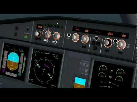 FlightGear A330-200/-300 Tutorials: VOR-DME Approaches Explained