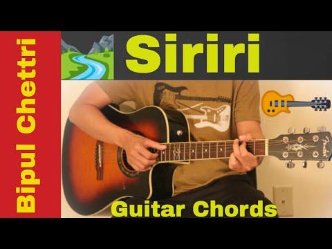 Siriri - Bipul chettri guitar chords | No capo | First Thoughts