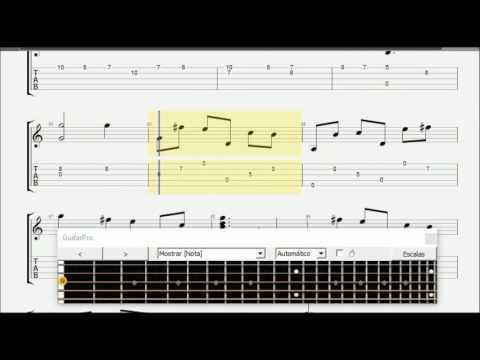 Gaitas - Baroque Guitar Tab (Santiago De Murcia 1732)