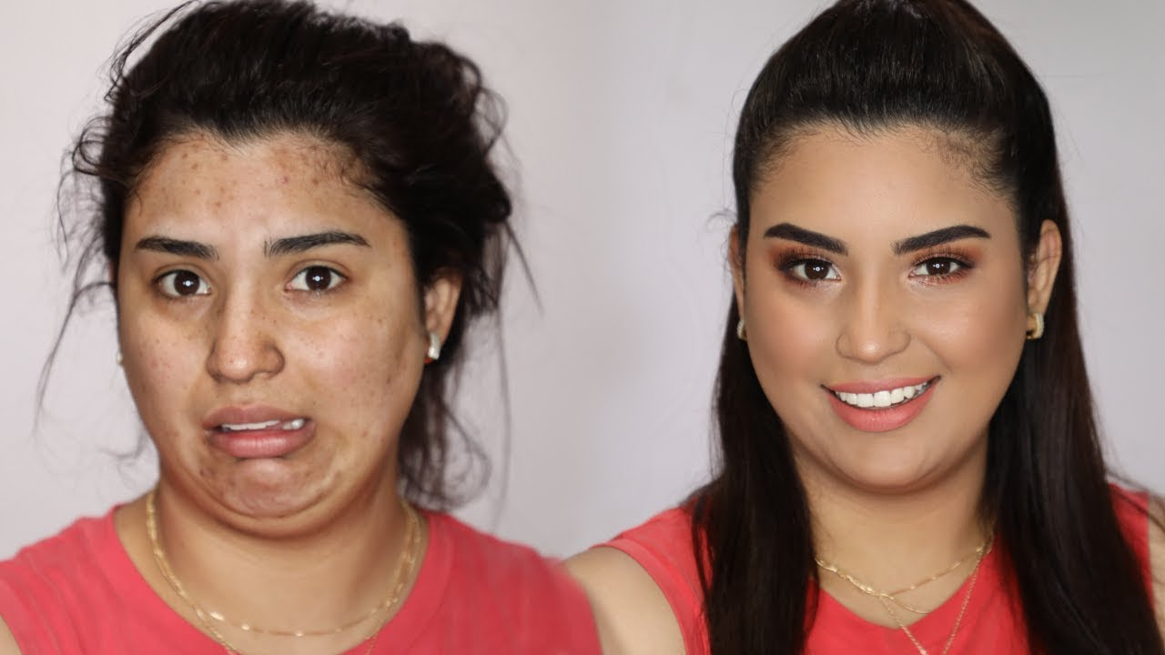 Si yo puedo maquillarme asi TU TAMBIEN PUEDES  tutorial de maquillaje para el dia