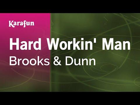 Karaoke Hard Workin' Man - Brooks & Dunn *