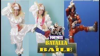 BAILES DE FORTNITE en la VIDA REAL DANCE CHALLENGE | Palomitas Flow