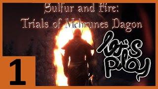 Skyrim Quest mod Sulfur and Fire: Trial of Mehrunes Dagon - ASH GOLEM