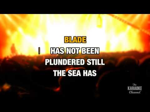 Conquistador in the style of Procol Harum | Karaoke with Lyrics