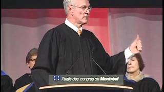 Andrew Pipe - KEYNOTE ADDRESS / DISCOURS D'OUVERTURE - Nov 4, 2011 - Part 1
