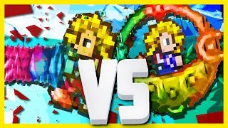 Terraria: Shroomite Digging Claws Vs Drill Containment Unit!
