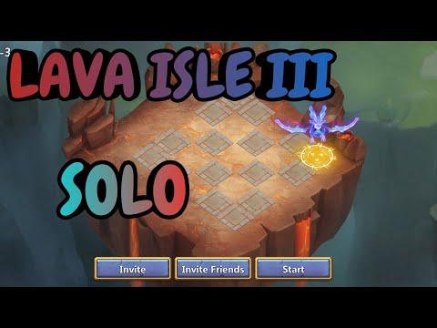 Lava Isle Lll Solo L Castle Clash