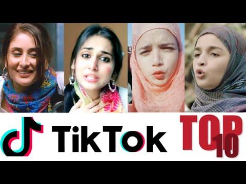 Top 10 Bollywood Duplicates on Tik Tok (Female)
