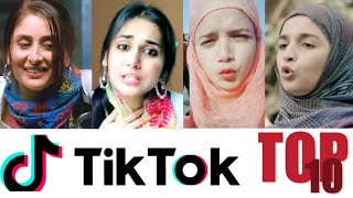 Top 10 Bollywood Duplicates on Tik Tok (Female)