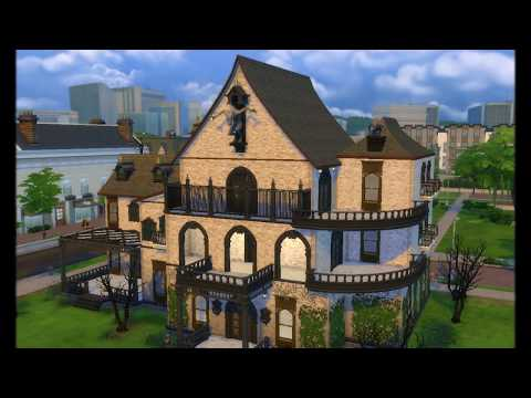 The Sims 4 Vampire Mansion by Tatyana Name