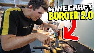 Paluten & Sturmwaffel braten den Minecraft BURGER 2.0