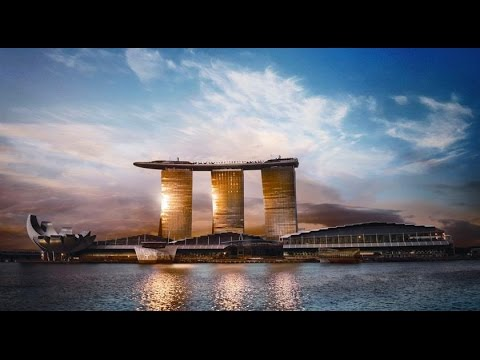 Marina Bay Sands Hotel Walkthrough Tour 2017