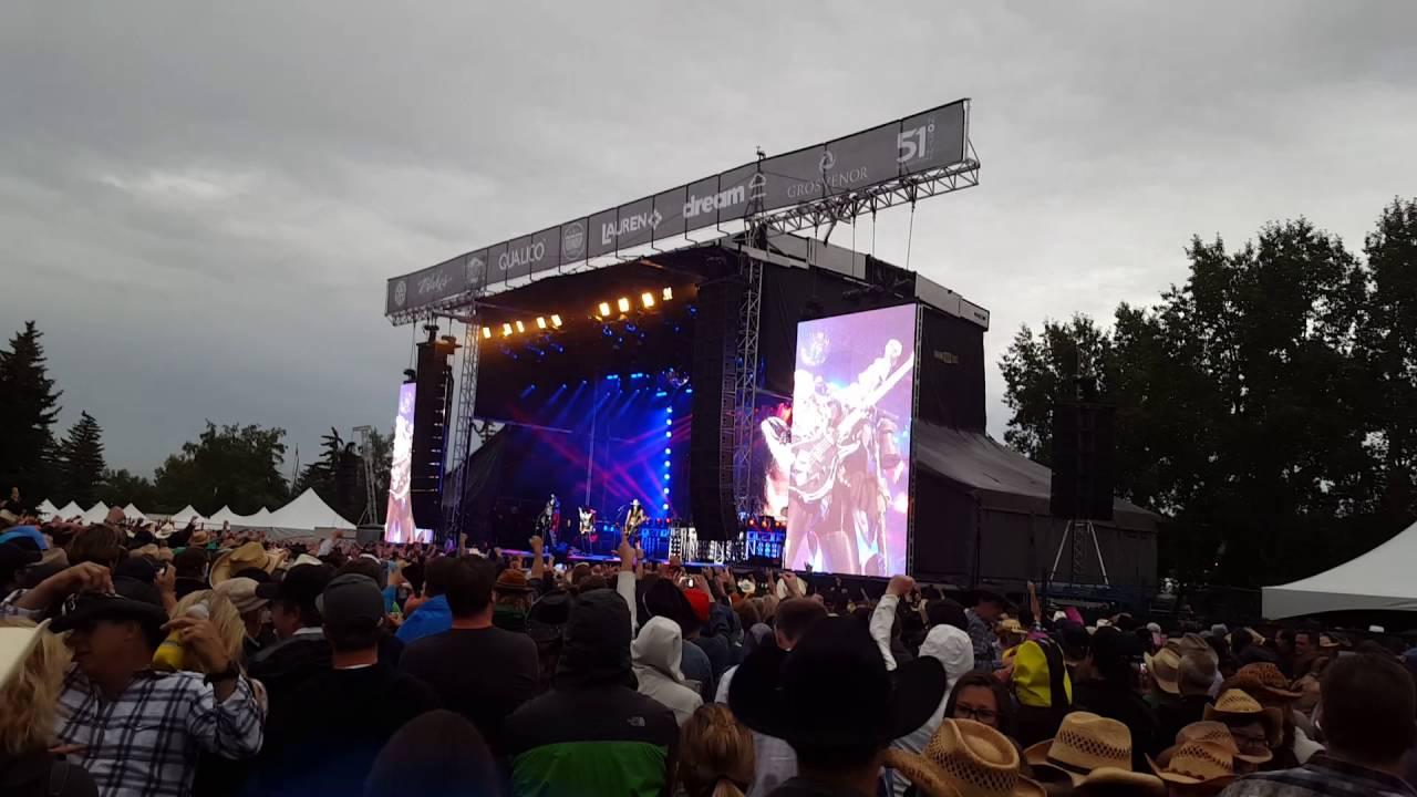 Kiss War Machine Stampede Roundup Calgary July 13 2017