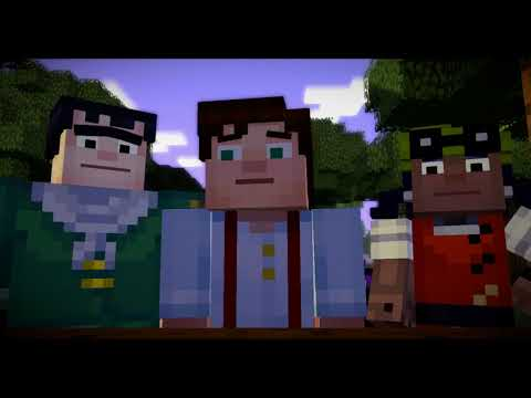 Xbox 360 Longplay [157] Minecraft Story Mode: Episode 1: The Order of the Stone