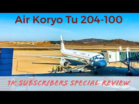 1000 Subscribers! FLIGHT TO NORTH KOREA 🇰🇵 Air Koryo Tupolev 204 | Beijing - Pyongyang | JS152