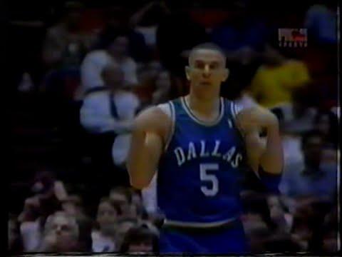 Jason Kidd (38pts/11rebs/10asts/8threes) Very Clutch vs. Rockets (1995)