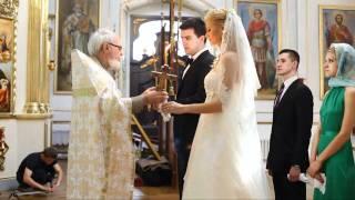 Венчание, Днепропетровск(Венчание в Преображенском соборе, в Преображенской церкви, красивое венчание, романтичное венчание, Преобр..., 2011-07-13T16:45:09.000Z)
