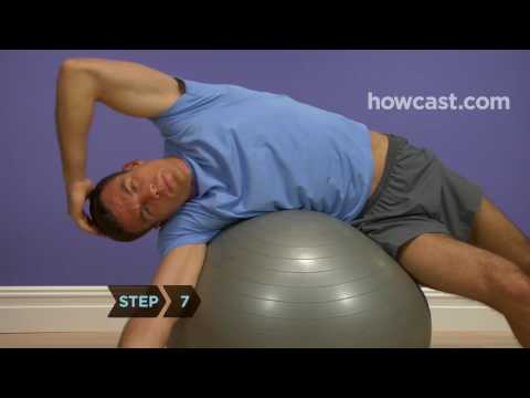How to Stretch Your Entire Abdomen with a Stability Ball