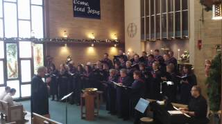 A Baby In The Cradle - Augustana Lutheran Church Choir And Bell Choir - 2.15.2013