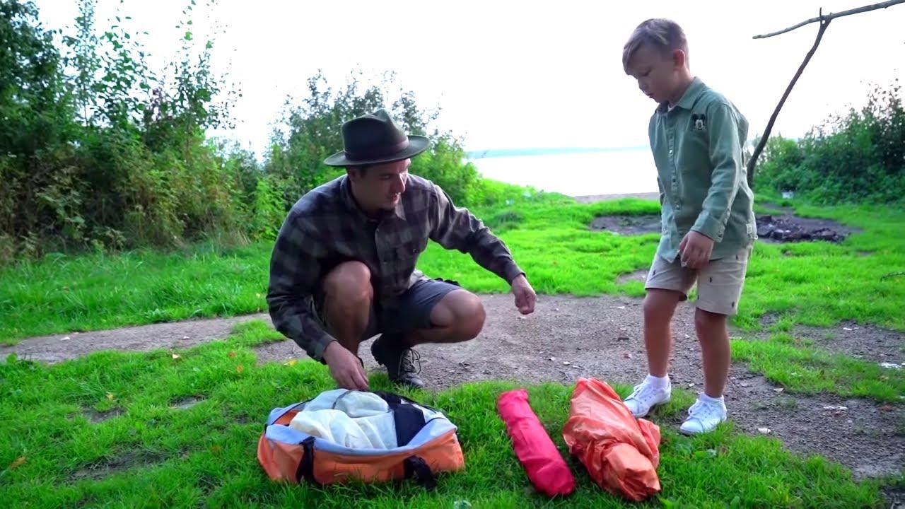 Сеня и папа Поехали на Рыбалку а нашли ЭТО!