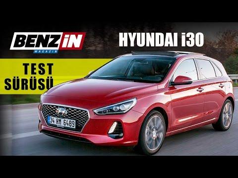 Yeni Hyundai i30 1.4 T-GDI test 2017 - YouTube