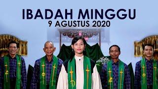 Ibadah Minggu 9 Agustus 2020 untuk Umum