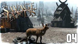 "Savage Lands Gameplay Ep 04 - ""Abandoned VILLAGE!!!"" 1080p PC Alpha"