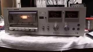 DrCassette's Workshop - Pioneer CT-606 cassette deck