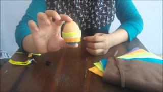 Kreasi Cangkang Telur Bekas - Eggman Brother