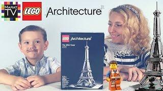 Лего Эйфелева Башня Париж LEGO Architecture Set 21019 The Eiffel Tower Paris(Спасибо что смотрите мои видео :) ссылка на это видео: https://youtu.be/l5uVB9ApTqA Смотрите также другие интересные..., 2016-07-11T21:59:00.000Z)