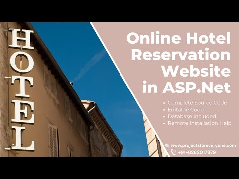Online Hotel Reservation Website Project in ASP.Net with C#.Net image