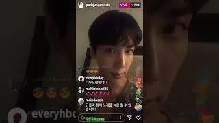 Park Jung Min ( live en Instagram ) 11/06/2018