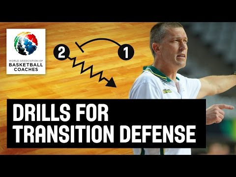 Drills for Transition Defense - Andrej Lemanis - Basketball Fundamentals