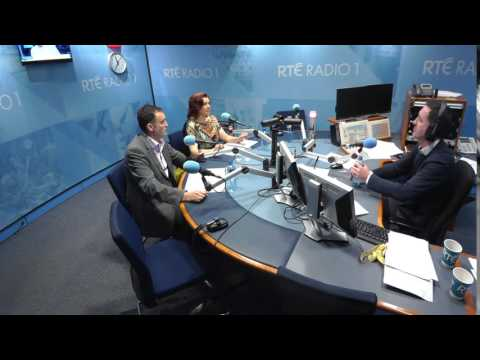 Edel Dooley speaking on Today with Sean Ó Rourke
